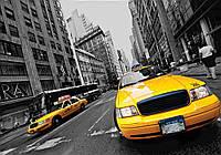 Фотообои готовые 368x254 см Желтый такси (2766.20242), фото 1