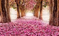 Фотообои готовые 368x254 см Корридор из цветов (851.20015), фото 1