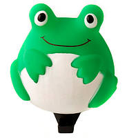 Гудок TW SY-635 Лягушка, резиновый, зелено-белый