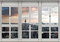 Фотообои готовые 368x254 см Нью-Йорк за окнами (10640CN), фото 1