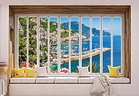 Фотообои готовые 368x254 см Райский отдых за окнами (10654CN), фото 1