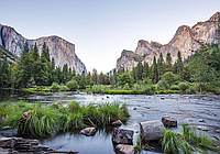 Фотообои готовые 368x254 см Река в горах (11815CN)