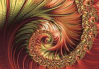 Фотообои на стену 368х254 см : Арт спираль (11721P8CN), фото 1