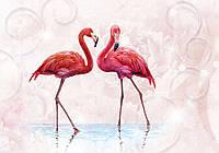Фотообои готовые 368x254 см Фламинго (10199CN), фото 1