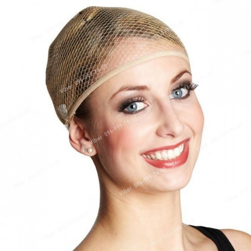 Сеточка для волос телесная сетка для сна