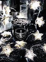 """Гирлянда на батарейках из плетеных звездочек """"Нежность"""", фото 1"""