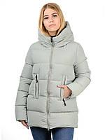 Куртка-пуховик Irvik Z33178 42 Оливковый