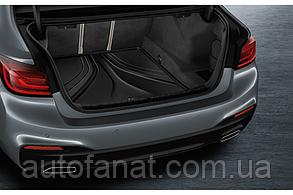 Коврик в багажник BMW 5 (G30) оригинальный черный (51472414224)