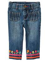 Детские джинсы для девочки 6-12, 12-18 месяцев., фото 1