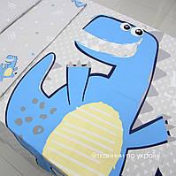 "Панелька сатин ""Динозавр"" 160*125"