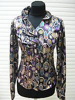 Блуза стрейч атлас, блуза не дорого молодежная, фото 1