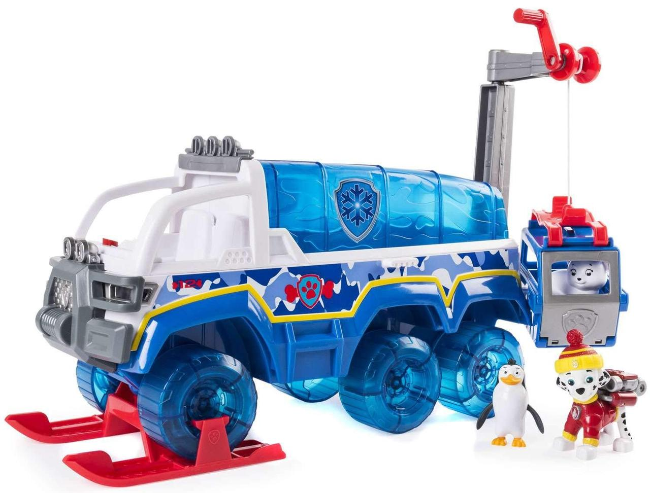 Щенячий патруль большая машина, с краном, свет,звук Paw Patrol Arctic Vehicle, Spin Master