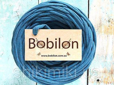 Трикотажная пряжа  Mini (50 м) цвет Синий меланж