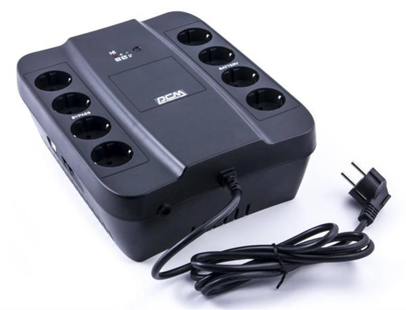 ИБП Powercom SPD-650U, 8 x евро (00210174)