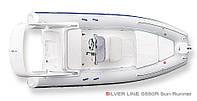 Надувная лодка Grand Marine SILVER LINE Cruisers S550RF с жестким корпусом (RIB) - GRAND-S550RF