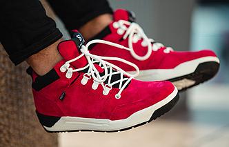 Кроссовки Мужские Зимние South fenix red красные, оригинал
