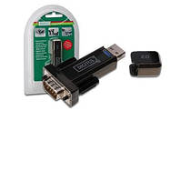 Адаптер digitus usb to rs232 black (da-70156)