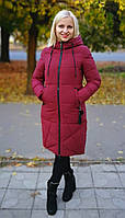 Зимняя женская куртка хаки