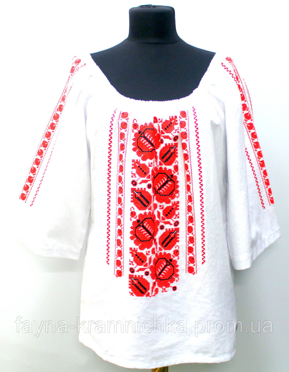 """Сорочка """"Орнамент"""" рр.48-52"""