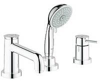 Смеситель для ванны на 3 отверстия Grohe BauClassic 25118000