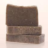 Гірська лаванда пілінгове мило [Для всіх типів шкіри. Розгладжує зморшки та покращує контур обличчя], фото 2