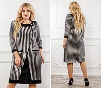 Платье женское французский трикотаж  27418
