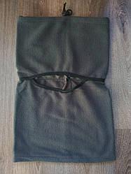 Балаклава флисовая темно серая 5530-ГЛ