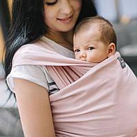 """Слинг-шарф трикотажный """"Оникс"""" для новорожденных Love & Carry  """"Орхидея"""" Переноски для детей слінг не Кенгуру, фото 1"""
