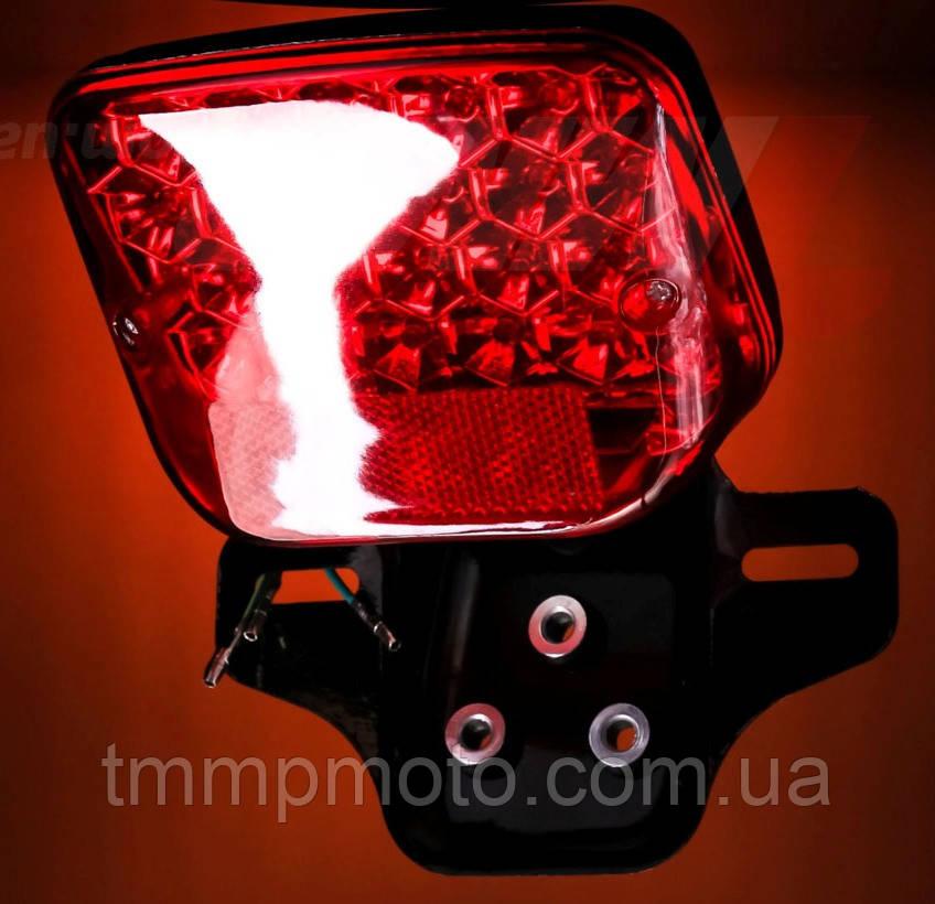 Фонарь стопа для мототехники LED ( светодиодный ) всеостанавливающий стоп