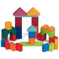 Конструктор nic деревянный Цветной замок 27 эл. (NIC523292)