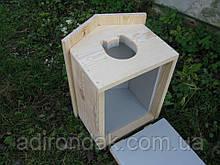 Утеплена будка для котика