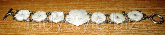 украшения купить браслет перламутр