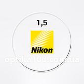 Линза для очков Nikon Classic 1.5 (Япония). Под покраску для солнцезащитных очков