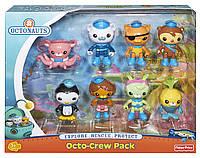 Набор 8 шт фигурки Октонавты, Octonauts Octo-Crew 8 Figure Pack Fisher-Price из США