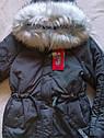 Супер!! Детская зимняя куртка парка на девочку X-Woyz 8263 Размер 42 Топ продаж!, фото 9