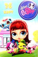 """Карты детские (36 шт.) """"Littlest PetShop"""""""