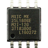 Микросхема Macronix MX25L1606EM2I-12G