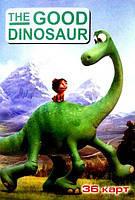 Карты детские (36 шт.) Хороший динозавр