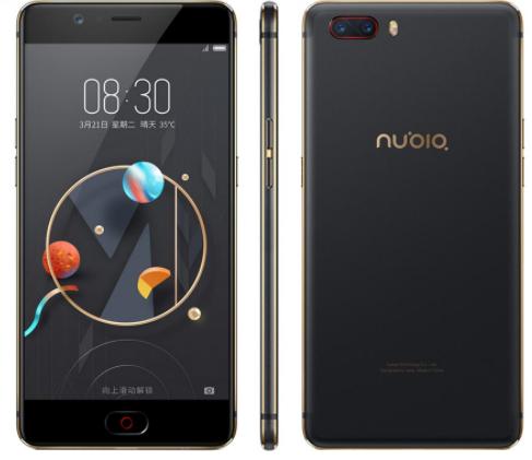 "ZTE Nubia M2 black / 4/128 Gb 5.5"" (1920x1080) Snapdragon 625 /128Гб / 13Мп / 3630мАч"
