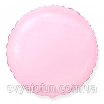 """Фольгированный шар круг розовый 18"""" 401500RS Flexmetal"""