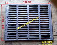 Решетка гриль чугунная для барбекю мангала 340х425 мм, фото 1