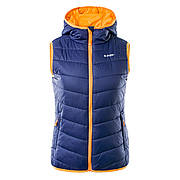 Жилет Hi-Tec Lady Solnis EVENING BLUE/GRENADINE ORANGE L Оранжевый с темно-синим (5902786005376-L)