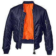 Куртка Brandit MA1 DARK NAVY M Синяя (3149.168-M)