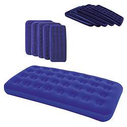 Надувний матрац Bestway 67000 синій, 185 х 76 х 22 см Ортопедичний