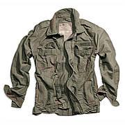 Куртка Surplus Heritage Vintage Jacket Oliv Gewas S Хаки (20-3587-61-S)