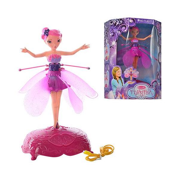 Большая музыкальная Летающая фея Hasbro Flying Fairy  Розовый TL8077