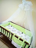 """Детское постельное белье в кроватку новорожденного """"Евро"""" + карман-приборник"""