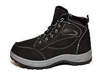 Ботинки зимние на высокой подошве - подростоковые