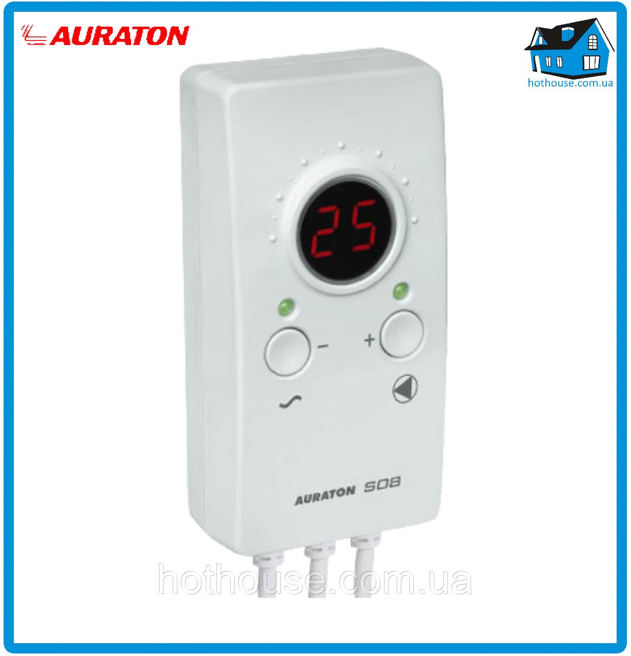 Универсальный контроллер Auraton S08 для насосов отопления и ГВС