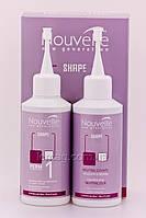 Nouvelle X-Shape Volumizing modifier + Neutralizer Kit 1 Лосьон для завивки волос + нейтрализатор для натуральные волос, 120 + 120 мл